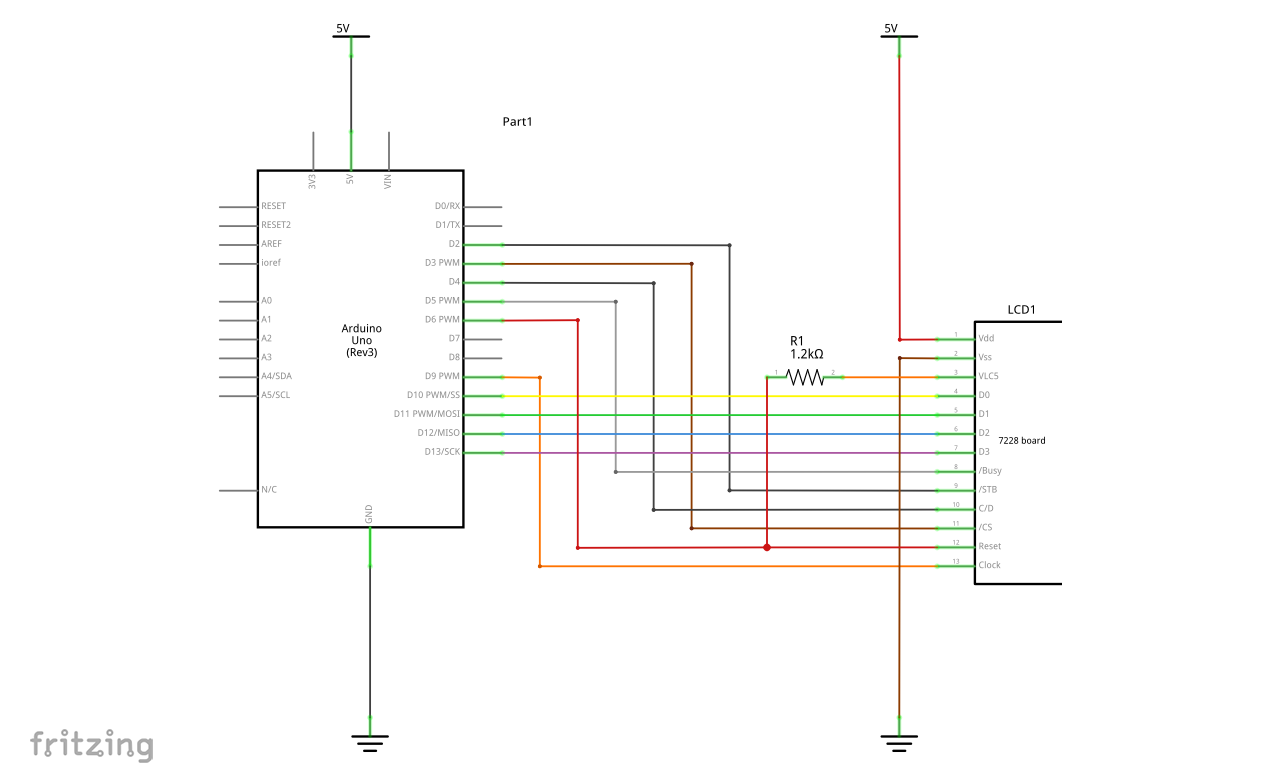 Schematic MGCS to Arduino