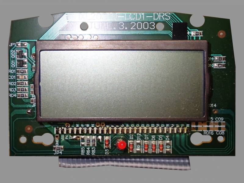 IXL2031D overview with board front