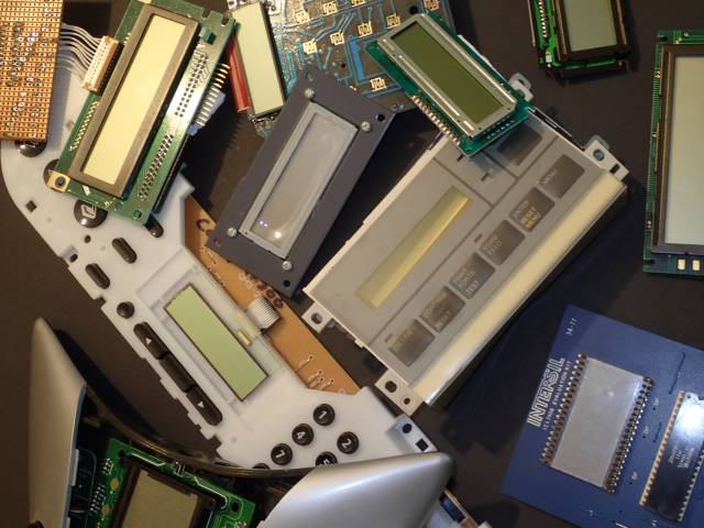 Recovered LCDs