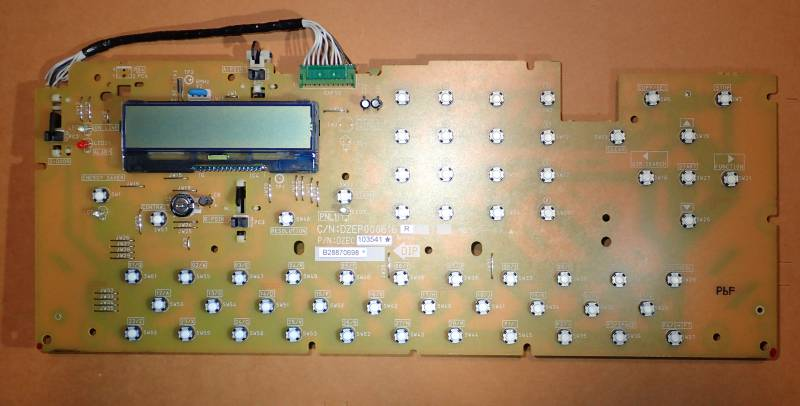 LMP202C10FR overview with board