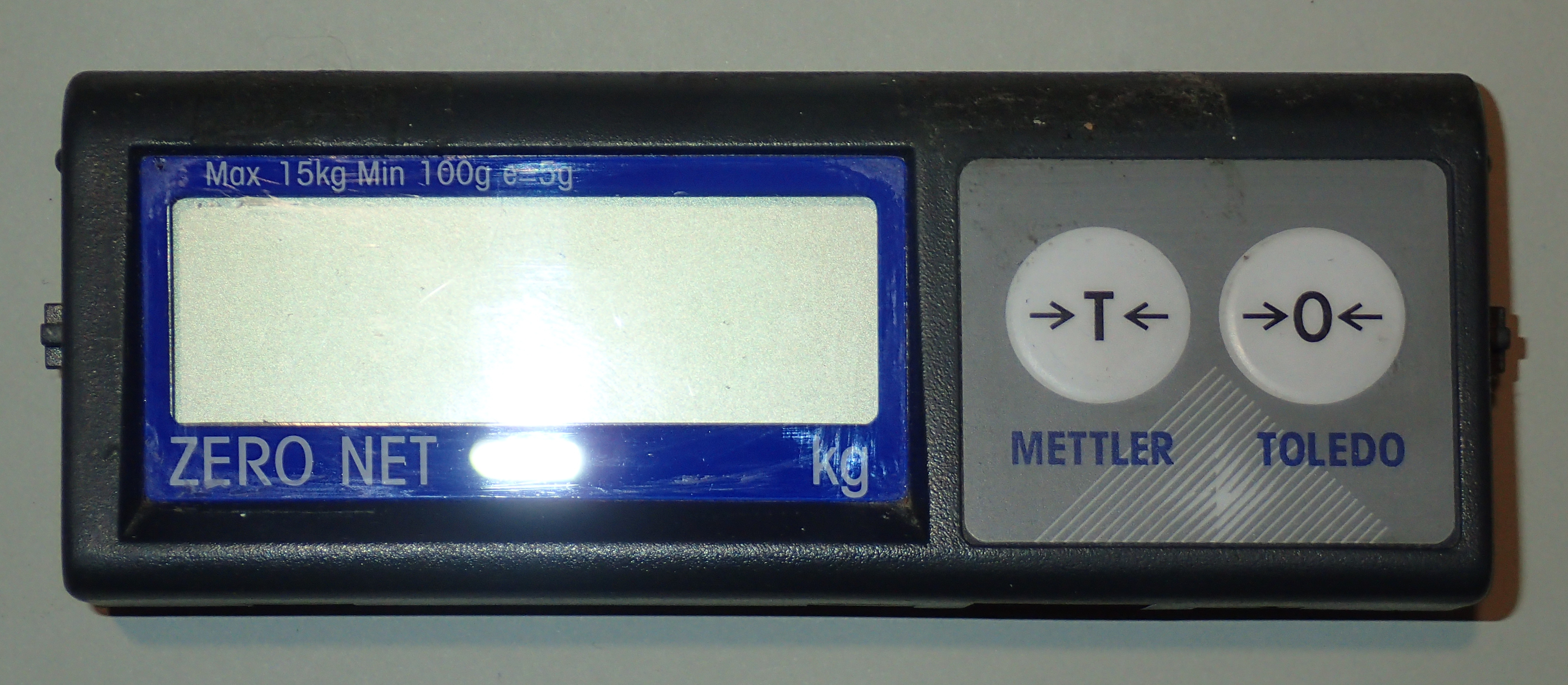 METP0000 LCD panel front