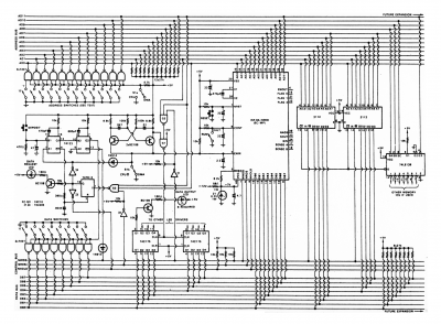 Mini Scamp schematic (original circuit for P-channel CPU)